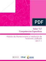 Guia de Orientacion Competencias Especificas Modulo de Mantenimiento e Instalacion de Hardware y Software Saber Tyt 2017-1