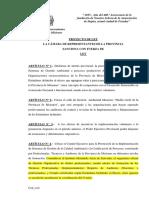 Proyecto Ley de Gestion Ambiental 2015