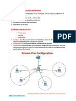 Private Vlan IntroDuction and Configuration
