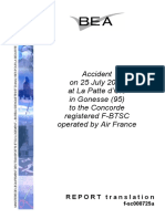 Concorde Accident Report