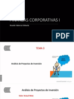 Finanzas Corporativas i - Semana 4