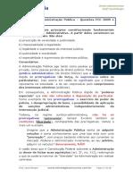 Direito Administrativo Principios Da Administracao Simulado