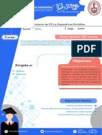 Mantenimiento de Pc y Dispositivos Portatiles