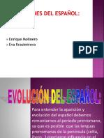 Los Origenes Del Español