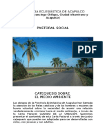Catequesis Del Medio Ambiente
