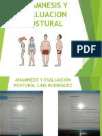 Ananmnesis y Evaluacion Postural