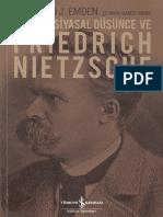 Christian J. Emden - Modern Siyasal Düşünce Ve Friedrich Nietzsche_CS