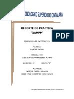 Reporte de Practica-Install Xampp