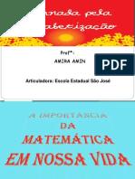 Jornal de Alfabetização Multiplicação e Divisão