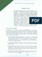 Contrato  TCE-MG e Ipead/UFMG
