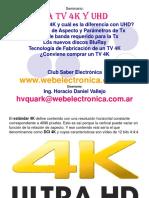 Seminario TV 4K - UHD