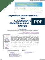 Circuits Vitaux de La Terre - Alignements de Sites Sacrés de La Terre