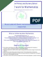 2014 Maths Scheme of Work Final