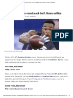 Post-combine Seven-round Mock Draft_ Ravens Edition - Baltimore Beatdown