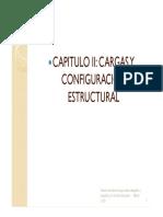 CARGAS Y CONFIGURACIÓN ESTRUCTURAL