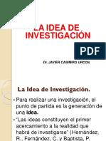 Idea de Investigación II