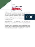 Las Claves Del Éxito de BIMBO
