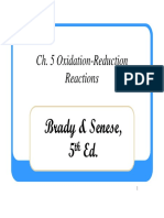 8. Ch05-Oxidation Reduction Reactions
