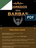 Segredos Das Barbas Segunda edição