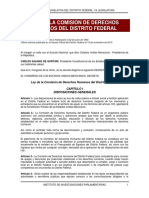 Ley de la CDHDF