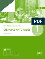 Ciencias Naturales 1º Básico - Guía Didáctica Del Docente Tomo 1