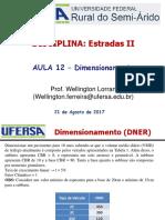 Aula 12 - Exercicios Dimensiomento e Programas