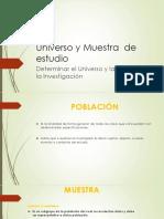 CLASE 3 Universo y Muestra  de estudio.pptx