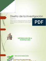 CLASE 2 Diseño de La Investigación