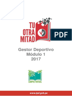 Fundamentos de La Gestion Deportiva FINAL Final