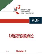 Fundamento de La Gestión Deportiva_Presentación_unidad I