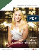 Research Prospectus
