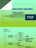 3. Metode Eksplorasi Geokimia