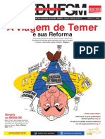 Jornal SEDUFSM Janeiro/Março de 2018