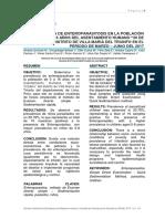 Artículo Enteroparásitos 1