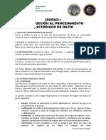 Ped - Material Unidades 1 y Primera Parte Unidad 2 - Primer Parcial