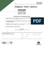 Unicamp 2018 - 2ª Fase