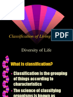 Classification of Living