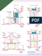 Plano de Arquitectura - Cortes 1