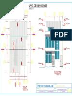 Plano de Arquitectura - Cortes 2