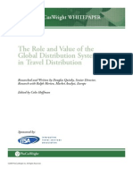 The Role and Value of the Global Distribution Systems in Travel Distribution