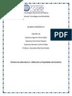 Reporte Practica 5 Equipo 5A Obtencion y Propiedades Del Acetileno