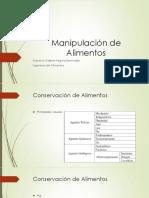 Manipulación de Alimentos Clase 2