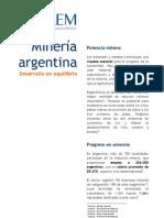 CAEM Mineria en Argentina