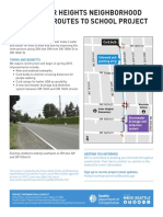 Arbor Heights project fact sheet