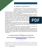 Fisco e Diritto - Corte Costituzionale n 13 2010