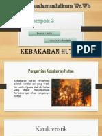 Mitigasi Kebakaran Hutan ppt