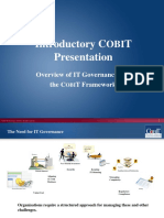 Cobit Introduction