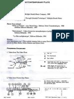 Contemporary Flute - Examples Scores