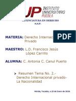 DERECHO DE LA NACIONALIDAD Y LA NACIONALIDAD MEXICANA.docx