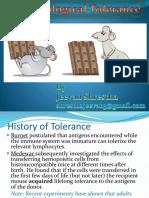 Immunologicaltolerance